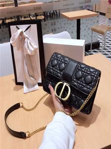 diseñadores de moda bolsos de mujer genuina bolsos de cuero bolso de mano Crossbody del bolso del bolso del mensaje TAMAÑO: 24 * 15 * 6cm con: BOX