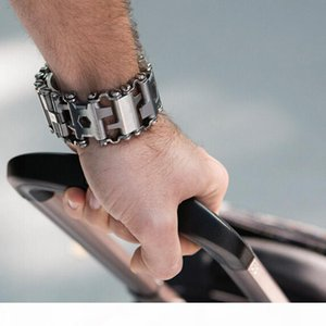 Metal Tool Straps For Samsung Galaxy Watch 46mm Gear S3 Watch Strap Bracelet Garmin 3 HR 5X Band With Screwdriver