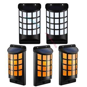 lampes de mur solaire de lampes de feu de lampe de flamme de simulation avec la couleur foncée de capteur nuit 1800K de couleur jaune
