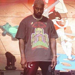 19SS XXXTENTACION Tee Men Women Graffiti T-shirt Hip Hop Street Skateboard Young Summer Short Sleeve HFYMTX452