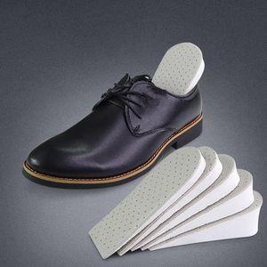 1pair Unisex Aumento Couro Altura Sapatos Metade Palmilhas Nova Unisex Shoes invisíveis Palmilha Inserções Pad Sapatos Acessórios
