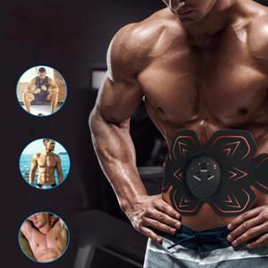 Abdominal Muscle Stimulator Smart Fitness Arm Training Electric Weight Loss Body Slim Belt ABS Stimulator Massage Equip Unisex