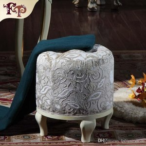 funriture reproducción antigua de gama alta dormitorio clásico vestir taburete de muebles clásicos muebles de madera real - envío del hogar libre