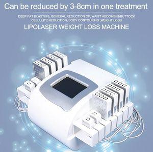 Профессиональный Mitsubishi Diode Lipolaser Cellulite удаление жира сжигания Lipo лазерное тело для похудения корпус формирования быстой машины потери веса