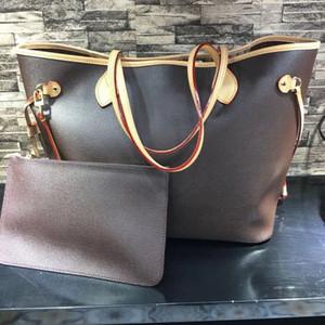 Venda quente clássico das mulheres sacolas de qualidade superior de couro real grande designer de bolsas de luxo sacos de compras de moda designer de saco composto