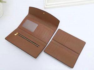 New2pcs / set cartera veces la forma más elegante de llevar tarjetas de dinero y monedas de los hombres del diseño de tarjetas de cuero titular de bolso famosa de negocio a largo