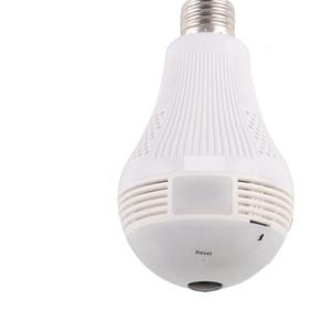 ANSPO 1080P 2MP WiFi panoramique Ampoule de sécurité Caméras 360 degrés Accueil sécurité système de caméra sans fil IP CCTV 3D Fisheye Baby Monitor