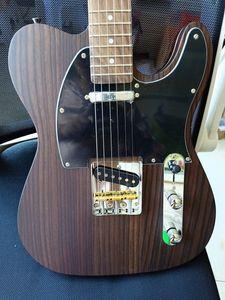George Harrison Alle Feste Palisander TL E-Gitarre TLA35 Alnico Pickups Messing Sattel Brücke Kostenloser Versand
