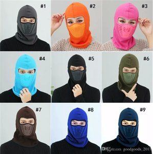Winter masks Warm Hat Thicker Barakra Hat Cycling Caps motorcycle windproof dust CS Ski mask tactics section head sets Tactical mask M902