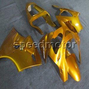 Vis + Cadeaux Injection moule or capot de moto pour Kawasaki ZX6R 2000-2002 636 ZZR600 05-08 Panneaux de moteur ABS