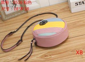 2020 Brand Design Women Female Shoulder Crossbody Shell Bags Fashion Small Messenger Bag Handbags PU shoulder bag leather bucket bag 0516#50