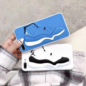 3D-Schuhe spezielle Telefonkästen für Männer Frauen Art und Weise rückseitige Abdeckung für iphone6s 7plus xs xr 11Pro max