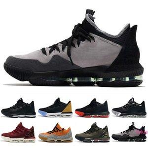 2019 nuovo arriva Quali XVI 16 Black Red Shoes Basso banda di pallacanestro Mens di alta qualità 16S Formatori Designer Brand Sport Sneakers formato 40-46