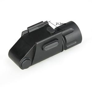 TRIJICON 전술 조명 Flashligh 사냥 빛 강한 빛 낮은 라이트 스트로브를 들어 권총 피카 티니 레일 CL15-0131