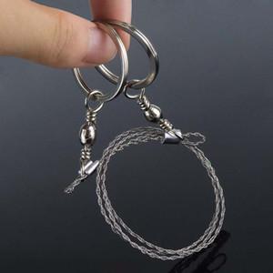 Спортивные подарки Silver 4-Strand Wire Saw Scroll Saw стали Emergency Туризм Отдых Охота Открытый инструмент выживания Выживание канат Цепная пила провода