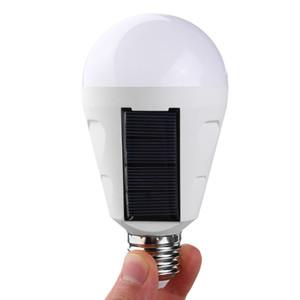 Lámpara de energía solar Portátil Led Bombilla Luces Panel de energía solar Iluminación LED para tienda de campaña Noche 540LM 7W 12W