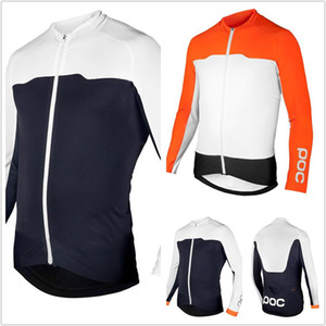 2020 hommes poc Cyclisme Maillots VTT Vêtements de course de vélo Vêtements de sport cycliste à manches longues vêtements VTT Vêtements Vélo