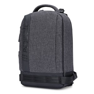 Prowell dijital dslr kamera fotoğraf sırt çantası su geçirmez tuval nikon canon kamera için tuval seyahat sırt çantası kamera çantası dc22095 ba
