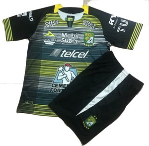 20 21 Leon futebol Jersey Shorts Men + crianças Futebol Kits 2020 LIGA MX Clube LEON Football Set Camisa de futebol Adulto Sports Treinamentos Suits
