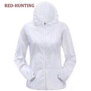 Secchezza rapido cappotto femminile traspirante Pelle Giacca Sun-protezione UV Protection Blusotti per le donne Lover uomini