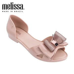 2020 New Melissa Jelly Shoes Original Matel Decoration Lady Sandals Women Sweet Jelly Shoes Melissa Adult Sandals Women Shoes Y200702