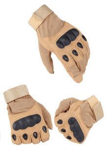 Three-color optional new wear-resistant tactical gloves Joint protectors Protective gloves Outdoor sports gloves Tactical accessories Free s