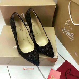 Elegante 2019 Novas Pointed Toe Office Lady Salto Alto Partido estilete sapatos de couro Mulher Burgundy Womens Pumps