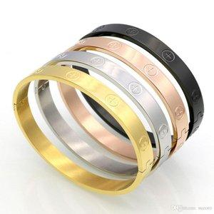 Euramerican tide brand ювелирные изделия и золотой винт простой чистый черный титановый браслет нувориш крест винт браслет
