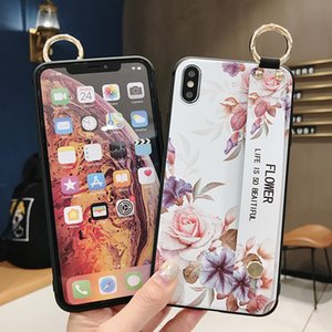 Cheap Designers Case For iPhone 11 Pro Max Xs XR X 8 Plus 7 Cell Phone Case Silicone solid color soft wristband