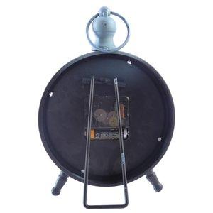 """2018مكتب """"ريترو أيرون آرت"""" الصامت ... ... ساعة الطاولة الصامتة ... ... Clock Vintage Style Home Decorative ..."""