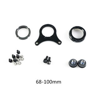68-100mm 120mm Electric Bicycle Assembling Components Mountain Bike Plate Installation Parts For Bafang Mid Motor Conversion Kit