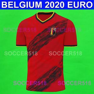 Batshuayi PELIGRO 2020 EURO Bélgica jerseys caseros del fútbol rojo TIELEMANS CASTAGNE Chadli maillots de camisetas de fútbol Camiseta de fútbol Lukaku