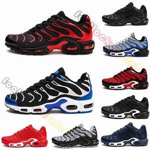 2019 TN des chaussures KPU Material tn Zapatillas de running Negro Rojo Tigre Zapatillas de diseñador para hombre Utilidad Zapatillas de deporte al aire libre Tamaño 13 Zapatos