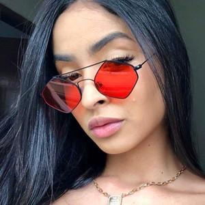 Designer de óculos de sol para as mulheres festival rave party diamante óculos de sol das senhoras 70 s 80 s óculos rosa vermelha óculos
