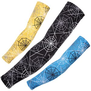 1PC Sports Arm Sleeve Ice Fabric Mangas Warmer Summer Protection Running Basketball Volleyball Cycling Sunscreen Bands