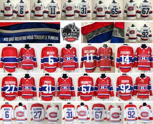 Montreal Canadiens 31 Carey Price 6 Shea Weber 11 Brendan Gallagher 13 Max Domi 27 Alex Galchenyuk 15 Kotkaniemi 92 Drouin Hockey-Trikots