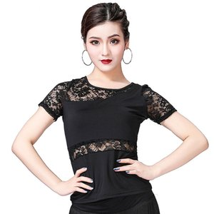 2019 Ladies Ballroom Dance Costume Tops Flamenco Dance Blouse Modern Standard Outfits Competition Latin Salsa Rumba Performance