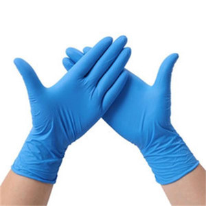 Factory Disposable Gloves Waterproof High elasticity Natural Rubber Latex Nitrile Durable Protective Gloves