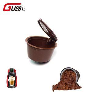 100% neue Marke 11 Farben-Plastik nachfüllbar Kaffeekapsel Cup 200mal Wiederverwendbare Kompatibel für Nescafe Dolce Gusto Filter Baskets Kapseln