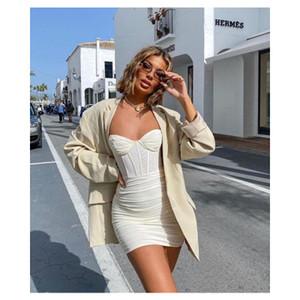 20s Женщины Сплошной цвет платья Модельер панелями Краткое Bodycon платья Sexy Lady платье 3 цвета Размер S-XL