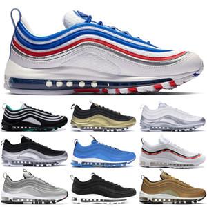 Jeu Royal 1997 OG Chaussures hommes femmes Chaussures De Course Nouvelle Arrivée Authentique platine pur Top Qualité Undftd Blanc 1997 Sports Sneakers