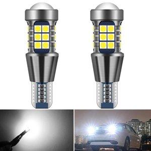 2pcs 1400Lm W16W T15 T16 LED Ampoules LED Canbus OBC Erreur libre de sauvegarde lumière 921 912 Lampe inversée Voiture 6000K E60 E90 E46