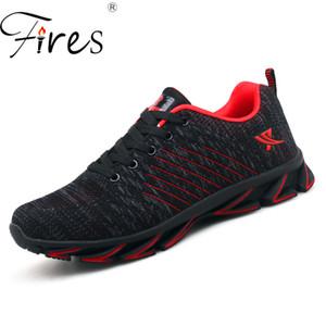 Fires Men's Running Shoes Plus Size 45 46 47 48 Outdoor Sport Shoes Breathable Sneakers Men Unisex Brand Zapatillas Hombre