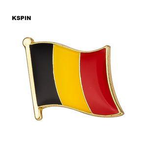 Belgio Bandiera Spilla Bandiera Distintivo Spilla Distintivi Spilla KS0034