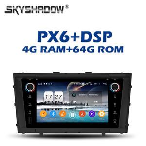 PX6 IPS DSP Android 9.0 4 Go + 64 Go Lecteur DVD de voiture Wifi RDS RADIO GPS Google map Bluetooth 4.2 Pour Avensis T27 2009-2013