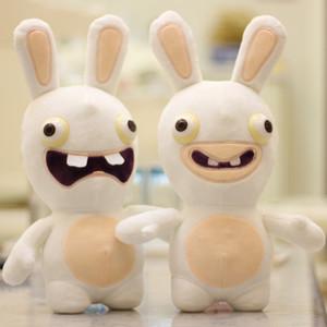Sıcak Toys 50cm Kawaii Peluş Rayman Raving Rabbids Tavşan Animasyon Tavşan Hayvan Çocuklar Oyuncak Doldurulmuş Bebekler İçin Çocuk Kız Hediye