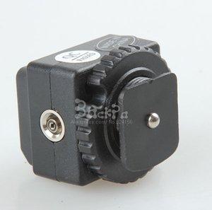 Freeshipping 10PCS PC convertitore di sincronizzazione con flash adattatore hot shoe per sb600 sb700 sb800 sb-900 sb910 accessori trigger wireless C-N2