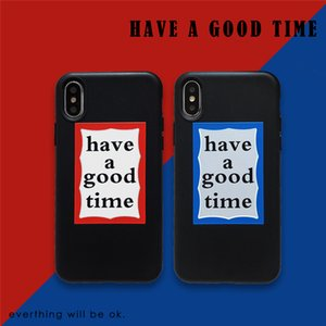 have good a time soft for iphone 11 pro x xs max xr 8 7 6 6s plus phone cover matte silicone Cartoon coque