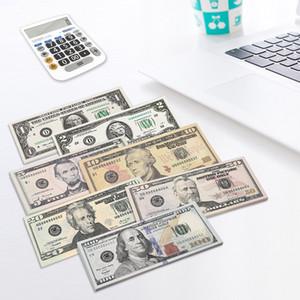 대부분의 현실적인 소유 돈을 우리 아이들이 놀이 장난감이나 가족 게임 종이 복사 지폐 100PCS / 팩