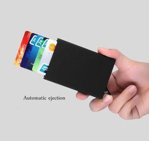 Mini card box Holder Aluminum Metal Blocking Aluminum Holder Mini card box Slim Blocking card box